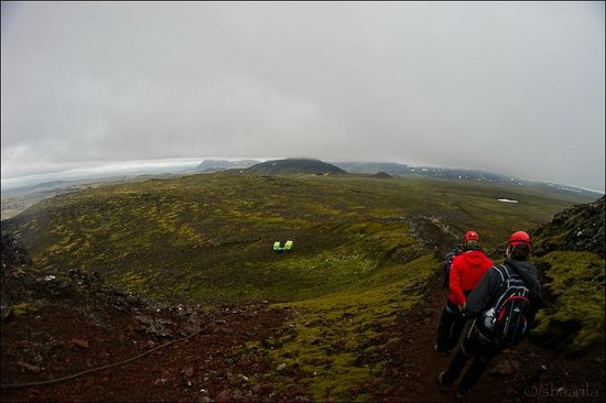 Inside The Volcano: View from the top