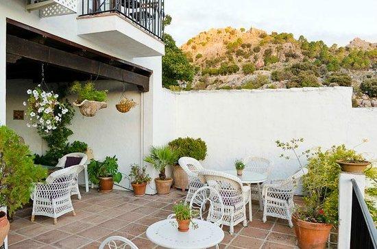 La Mejorana: terrace