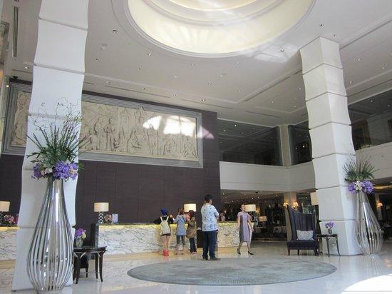 The Sukosol : recepção do hotel
