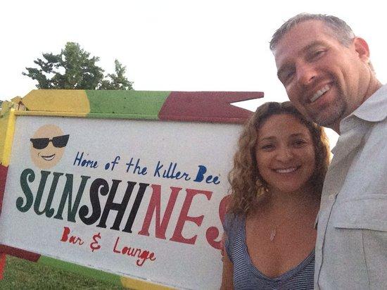 Sunshine's Beach Lounge : Selfi