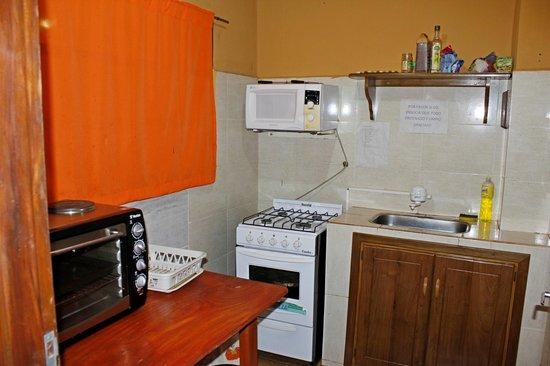 Terra Iguazu Apart Hotel: Cocina Central