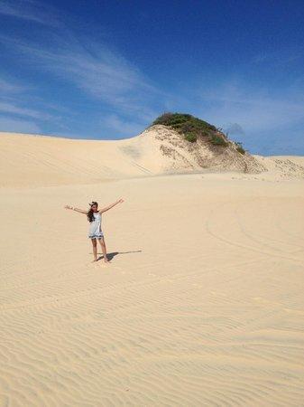 Porto das Dunas Beach: Aproveitando as dunas