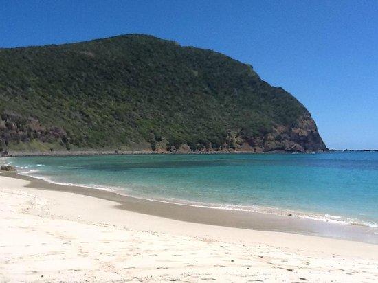Capella Lodge: una delle spiagge