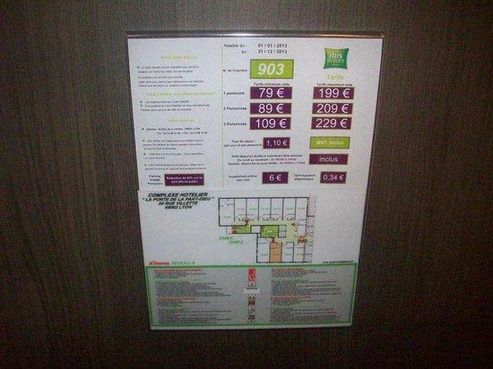 Ibis Styles Lyon Centre - Gare Part Dieu : ASCENSORE