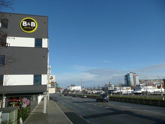B&B Hotel Kiel-City: Lage = perfekt