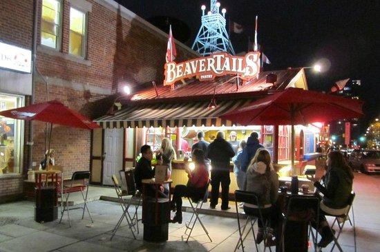 Beaver Tails Pastries : Der Beavertail Stand im Byward Market Viertel