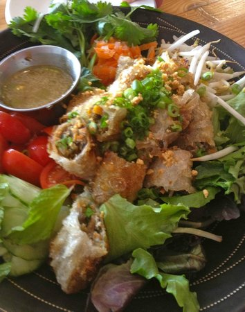 Rice Monkeys : Rice Paper Fried Pork Vermicelli Bowl/Salad