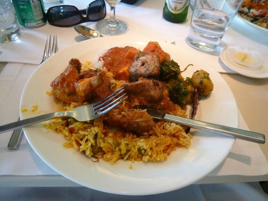 The Oberoi : great food