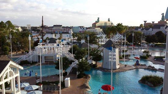 Disney's Beach Club Resort: View from room