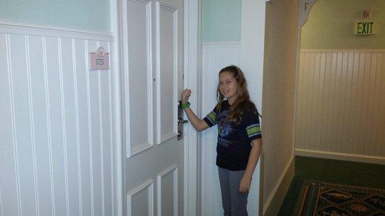 Disney's Beach Club Resort: Magic Band access into room.  No room key needed.