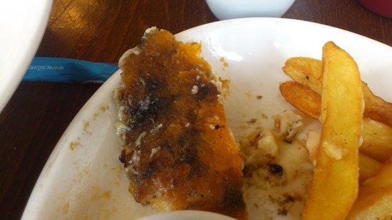 Rodmill: the bottom of my cauliflower tart