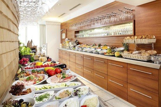 Frühstücksbuffet Hotel Helvetia