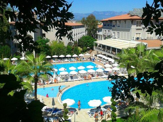 Club Bella Sun Hotel: вид из номера
