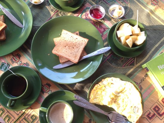 Blue Mountain Homestay: Delicious Breakfast