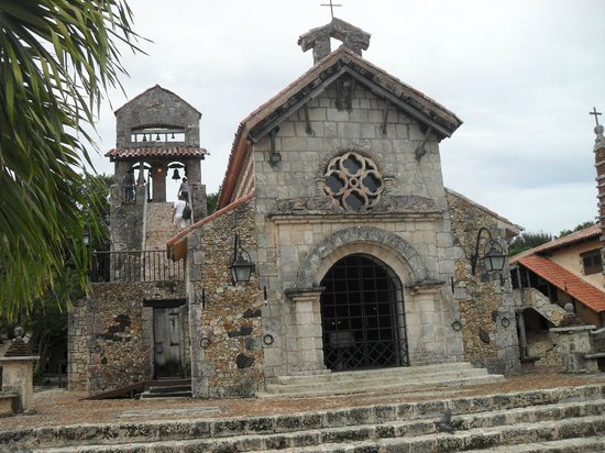Altos de Chavon: The Church where Michael Jackson & Lisa Marie Presley married at Alto De Chevon