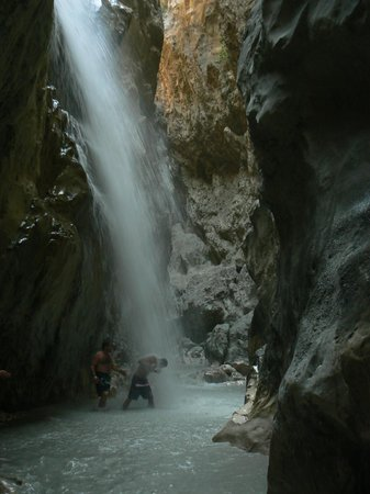 Saklikent Milli Parki : Saklikent Gorge, la cascata