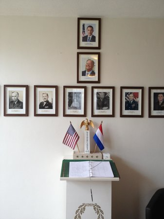 Netherlands American Cemetery and Memorial: Presidents