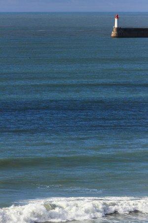 Atlantic Hotel & Spa : vue phare des sables