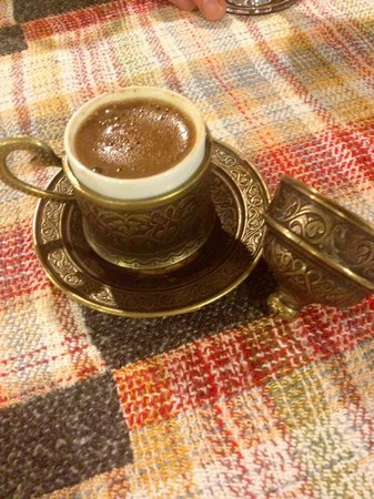 Mozaik Bahce: Try the coffee