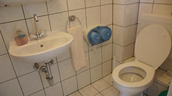 Pension bei Schinderhannes und Julchen: Very clean washroom