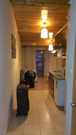 Taksim Guest Residence : Couloir