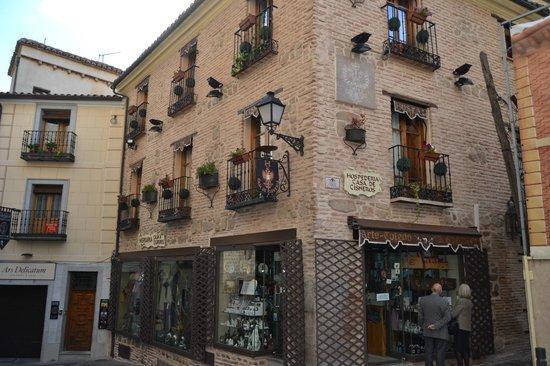 Hostal Casa de Cisneros: FACHADA DEL HOSTAL
