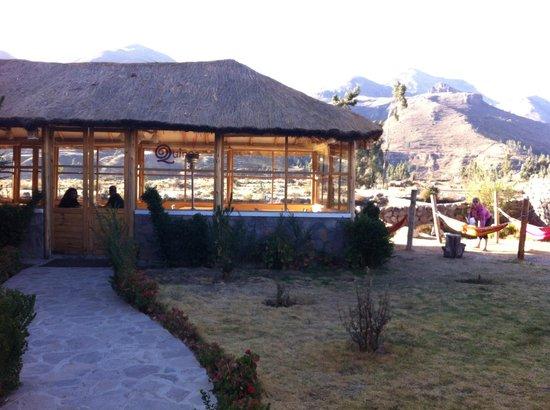 Killawasi Lodge: Qunioa Restaurant at Killawasi