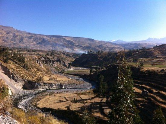 Killawasi Lodge: View from the hike