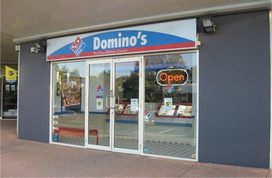pizza place review of domino 39 s pizza coolum beach australia tripadvisor. Black Bedroom Furniture Sets. Home Design Ideas