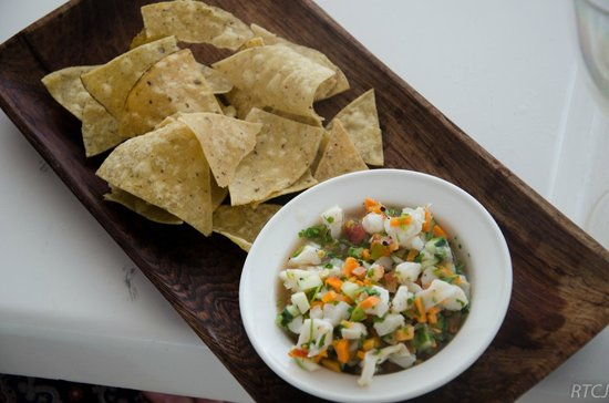 Belcampo Lodge: Conch ceviche