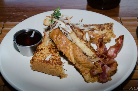 Copal Tree Lodge, a Muy'Ono Resort: Delicious French Toast