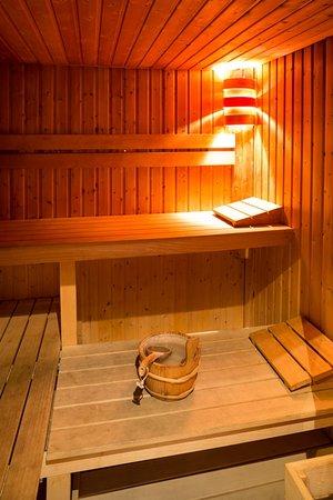 Hotel Le Canberra: Sauna