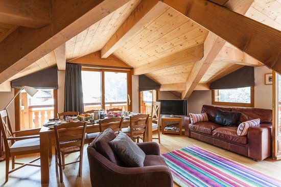 The Tasty Ski Company - Apartment Amandine : Living Area
