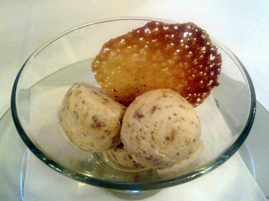 Xalet Suis: helado de higos al Armagnac