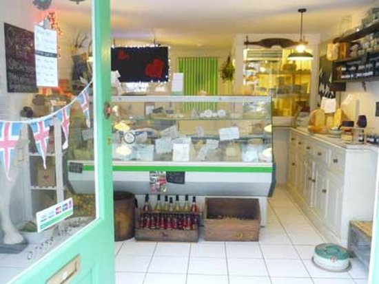 The Cheese Box in Harbour Street