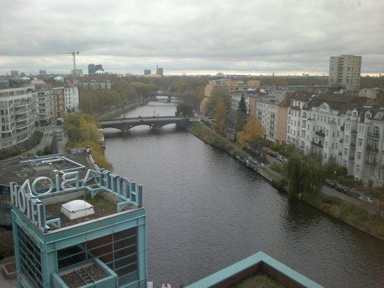 Ameron Hotel ABION Spreebogen Berlin: 8 floor wiev