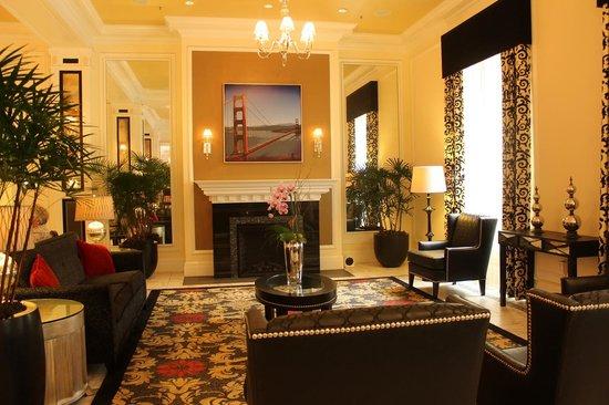 Wyndham Canterbury at San Francisco: lobby