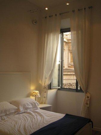 Domus Liberius: Bedroom overlooking Basilica
