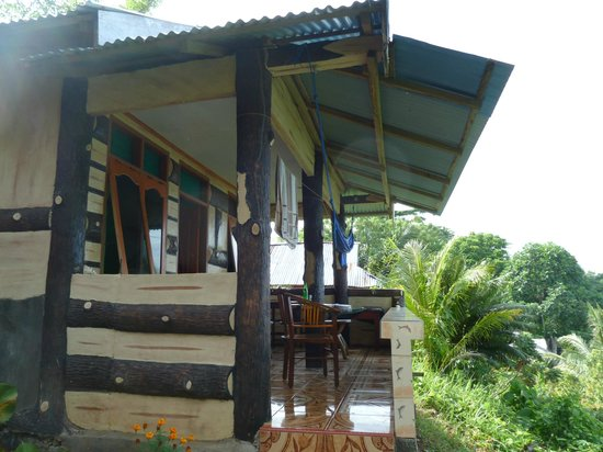 Panorama Cottages : Our room from outside