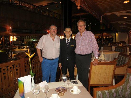Royal Grill Room & Wine Cellar : Vielen Dank Vichai für den perfekten Service, den wir bei Dir im Restaurant immer wieder geniess
