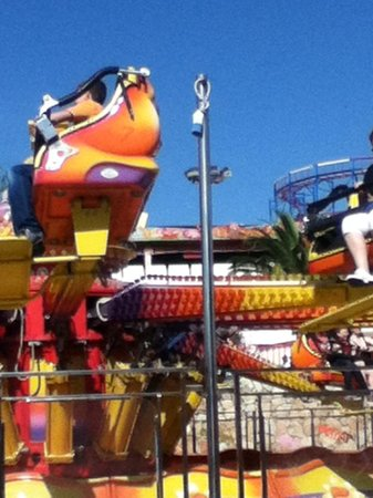 Tivoli World: this one is very fast so hold on tight