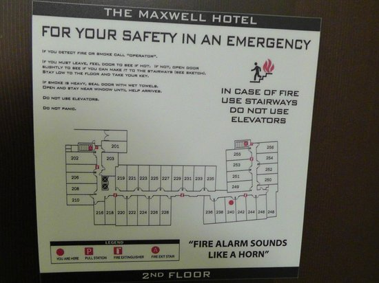 The Maxwell Hotel - A Staypineapple Hotel: Raumplan