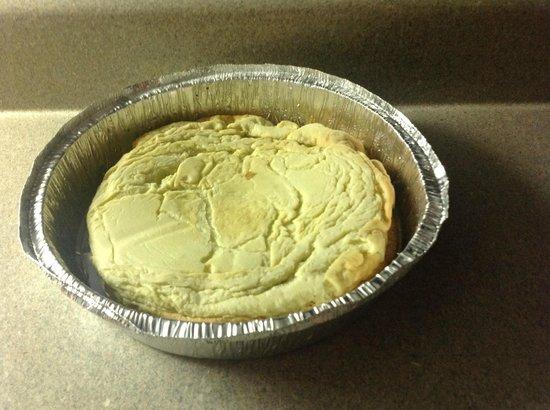 The Original Pancake House: Undercooked Dutch pancake