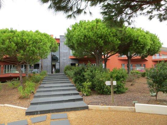 Praia Verde Boutique Hotel: Côté jardin