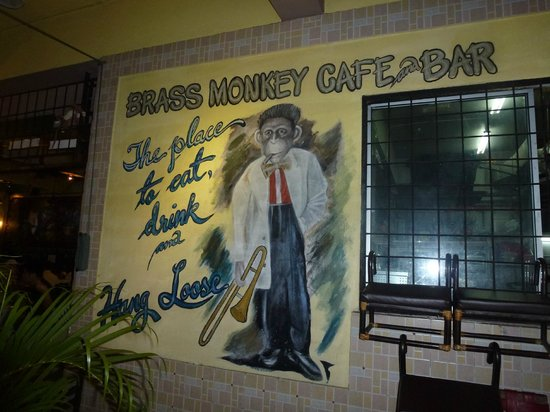 Brass Monkey Cafe & Bar: LE BRASS MONKEY