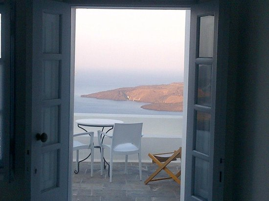 Aigialos Hotel: View from our room