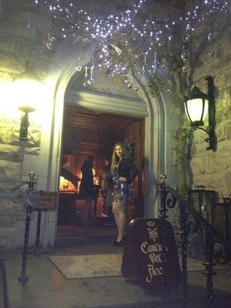 Ashford Castle: somewhere iniside