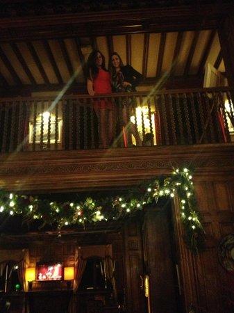 Ashford Castle: xmas decoration