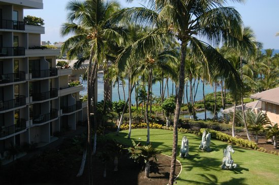 Hilton Waikoloa Village: View to the West from the room