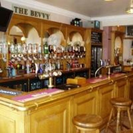 Mayfair Hotel: This is our bar The Bevvy